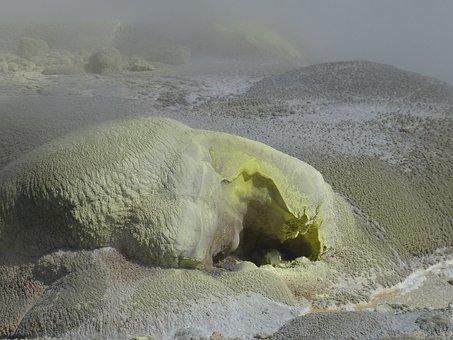 Sulfur, Rotorua, Gases, Toxic, Volcanism, Volcanic