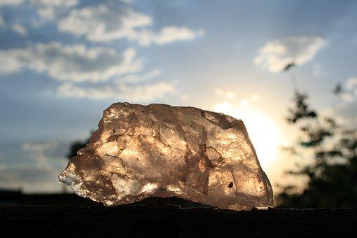 Quartz, Rose, Stone, Semi-precious, Translucent