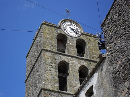 Church, Sharp Acute, Aude, Village
