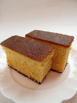 Sponge Cake, Suites, Sweet, Cake, Dessert, Sugar