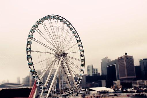 The Ferris Wheel, Hong Kong, Central Pier
