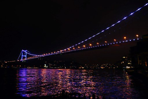 Turkey, Istanbul, Blue, Nature, Bosphorus, Throat