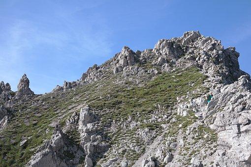 Summit, Rough Horn, Trail, Alpine, Allgäu Alps