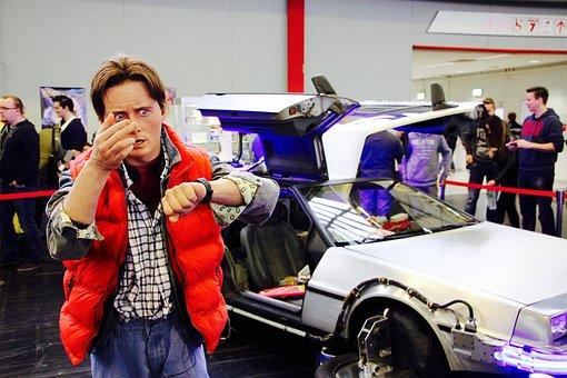 Back In The Future, Mcfly, Comiccon, Dortmund, Fair