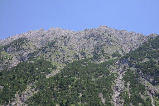 Behind Steiner Tal, Mountains, Alpine, Rough Horn