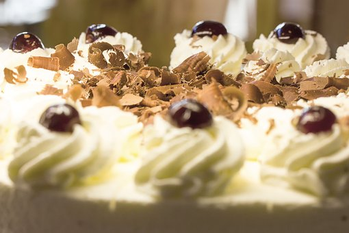 Black Forest Cake, Cake, Cream, Dessert, Food, Calories