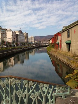 Canal, Hokkaido, Otaru