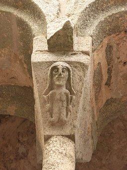 Siren, Capital, Romanesque, Sant Pere De Rodes