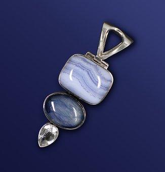 Gems, Jewellery, Trailers, Silver Jewelry, Chalcedony