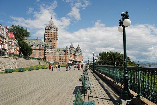 Quebec, Chateau, Castle, Frontenac, Architecture