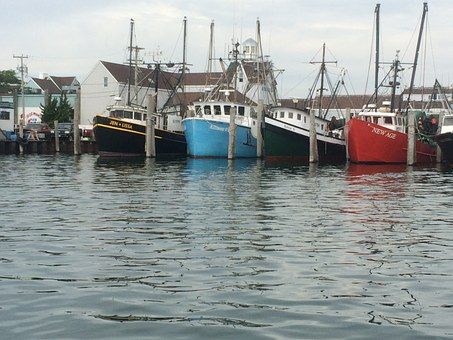 Fishing, Vessel, Harbor, Commercial, Dock, Trawler