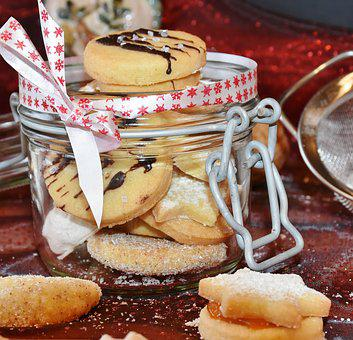 Cookie, Christmas Cookies, Cone Shape, Crescents