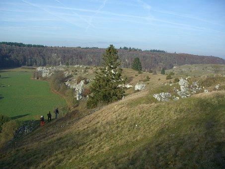 Eselsburg Valley, Brenz, Nature, Hiking