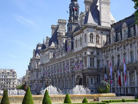 Paris, Town Hall, Hotel De Ville, France