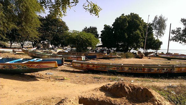 Boats, Sea, Harbour, Country Boat, Grounded