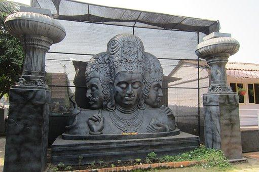 Shiva, Elephanta Island, Hindu, India, Hinduism, Shiv