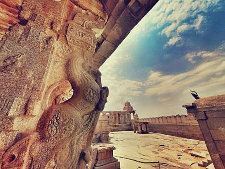 Lepakshi, Andhra, Pr, Pradesh, India, Temple, Sculpture