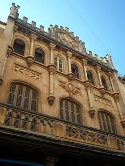 Llucmajor, Facade, Building, Architecture, Home, Window