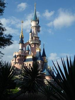 Eurodisney, Castle, Marne Valley, Paris