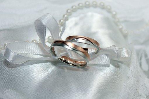 Wedding Ring, Marriage, Gold Ring, Beautiful