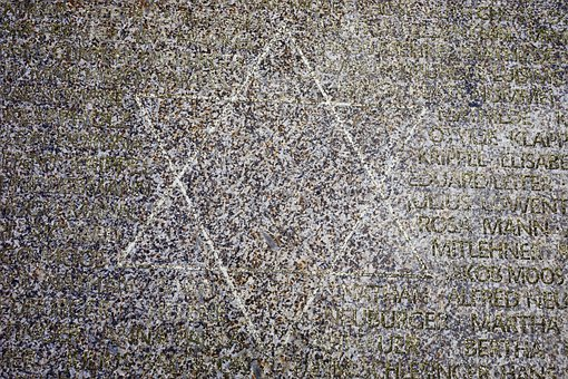 Star Of David, Memorial Stone, Stone, Memorial Plaque
