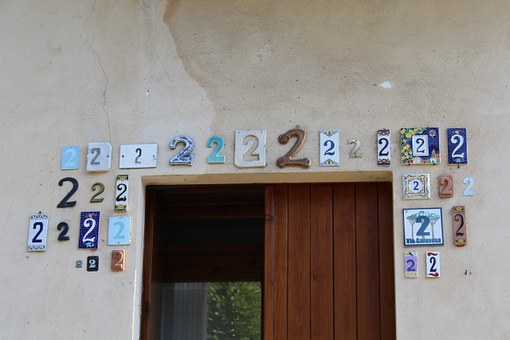 Number Two, Entrance, Civic Number, Door