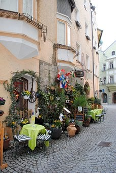 Old Town, Austria, Old Town Lane, Hall In Tirol