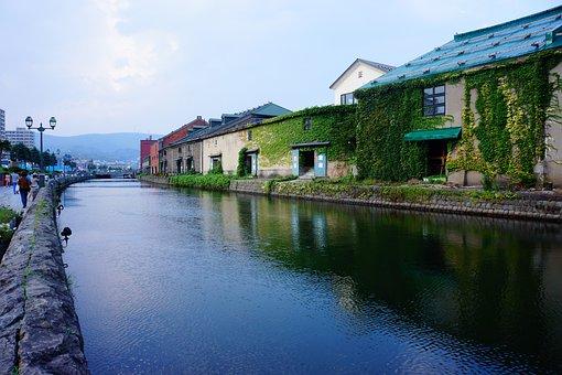 Hokkaido, Otaru, Canal