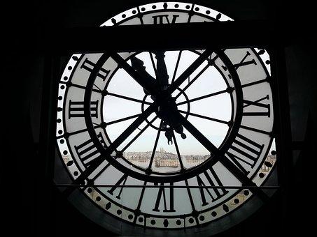 Paris, Museum, Orsay, Clock