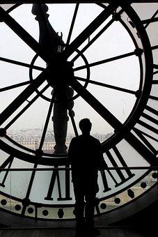 Time, Movement, Past, Forward, Human, Person, Paris