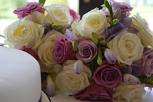 Wedding Flowers, Aldridge, Reception, Day, Happy