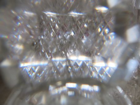 Crystal, Refraction, Light, Reflection, Glass, Diffuse