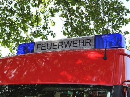 Fire, Fire Truck, Rescue Vehicle, Brand, Rescue, Use