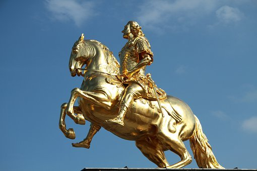 Statue, Monument, Horse, Rider, Landmark, Famous