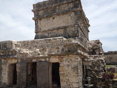 Ruins, Maya, Tulum, Mexico