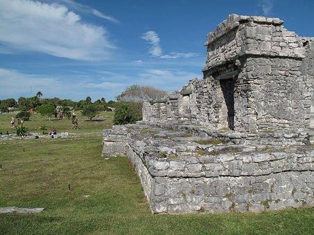 Tulum, Ruins, Mexico, Maya