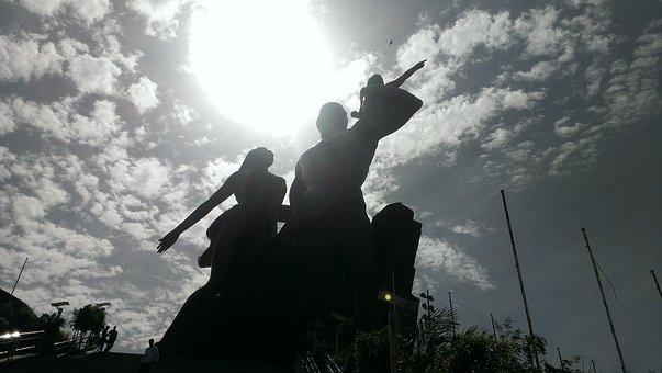 Monument, Renaissance, Dakar, Senegal, Statue