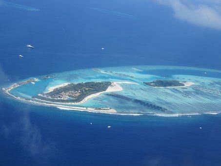 Maldives, Indian Ocean, Summer, Holiday, Beach, Sun