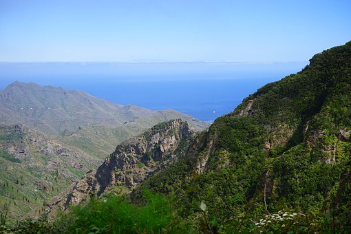 Mountains, Viewpoint, Canary Islands, Tenerife