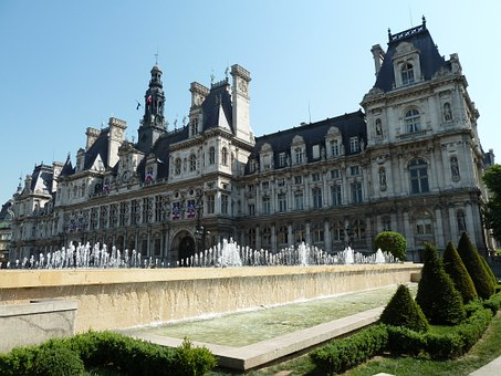 Paris, Hotel De Ville, Town Hall, France
