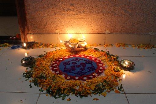 Diwali, Rangoli, Tradition, Indian, India, Festival