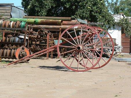 Truck, Sulki, Wheels, Irons