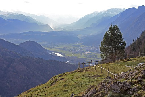 Naunspitze, Alpine, Kufstein, Tyrol, Zahmer Kaiser