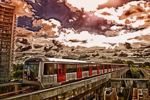 Amsterdam, Netherlands, Train, Depot, Railway