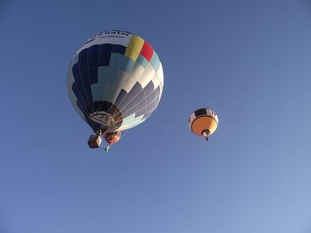 Balloons, Hot Air Ballooning, Sky, Flight, Balloon, Sol