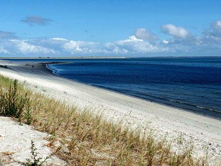 Beach, Sylt, Ellen, Elbow, Landscape, North Sea, Sea