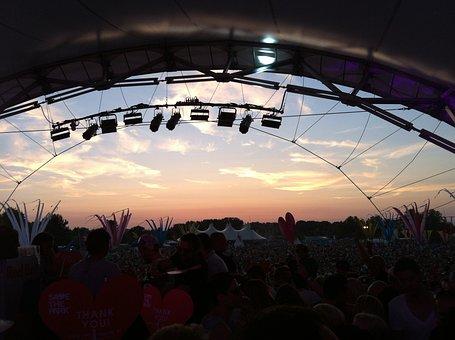 Festival, Sunset, Love, Family, Park, Hanau, Celebrate