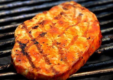 Steak, Meat, Grilled Meats, Pork Steak, Delicious, Eat