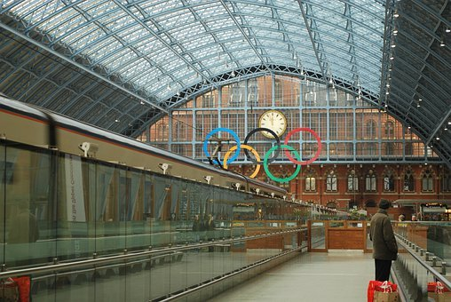 London, England, Great Britain, Train Station, Depot