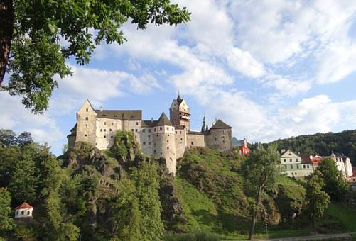 Castle, Nature, Trip, Monument, Elbow